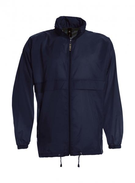 jacheta windbreaker ju800 navy