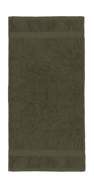 prosop de maini rhine 50x100 hand towel 003 64 chocolate